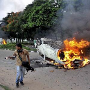 PHOTOS: 30 dead, 250 hurt as Dera followers run riot in Haryana, Punjab