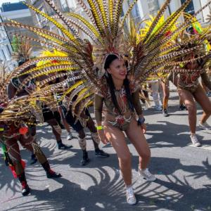 PHOTOS: It's feathers and a whole lot of fun at Notting Hill carnival