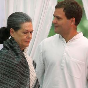Is Sonia ready to pass baton to son Rahul?