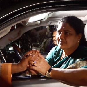 The raid that led to all of Sasikala's troubles