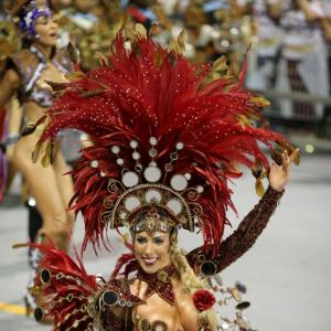 PHOTOS: Feathers, fun and fanfare! It's time for the carnival