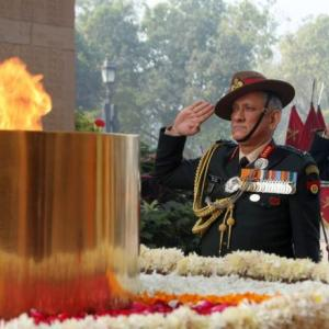Army won't shy away from flexing muscles if need be: Gen Bipin Rawat