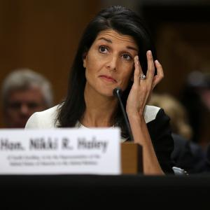My story is an American story, says Nikki Haley at confirmation hearing