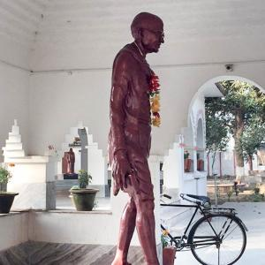 Why Gandhi can never be erased from history
