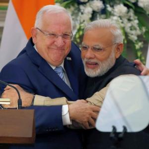 'India's ties with Israel are special'