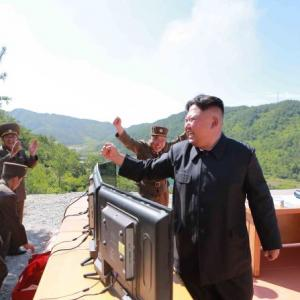N Korea says ICBM can carry nukes; US, South hold missile drill