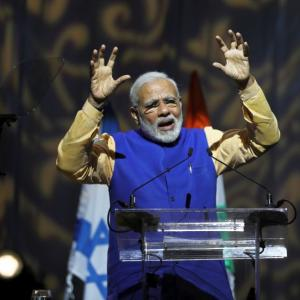 Flights, OCI cards: PM's gifts to Indian diaspora in Israel