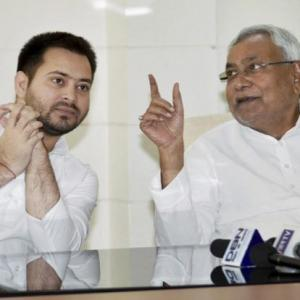 'Today's youth enter politics because of their families': Nitish taunts Tejashwi