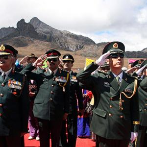 Formalise the India-China border