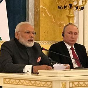 Modi in Russia, officials work overtime to finalise nuclear deal