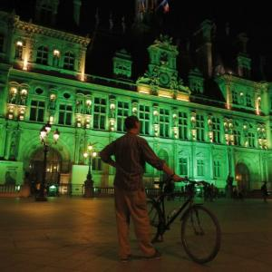 PHOTO: World goes green in solidarity with Paris climate accord