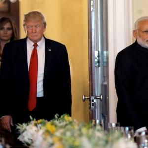 PHOTOS: Trump hosts dinner for Modi
