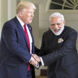 At APEC summit, Trump praises India's growth story and Modi