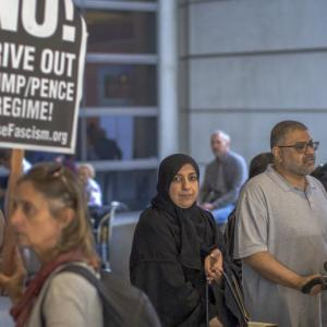Trump's travel ban on 6 Muslim countries comes into effect