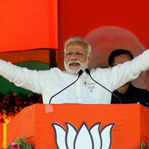 Modi uses 'Gayatri' mantra against SP