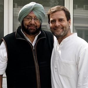 How Amarinder taught Rahul a lesson