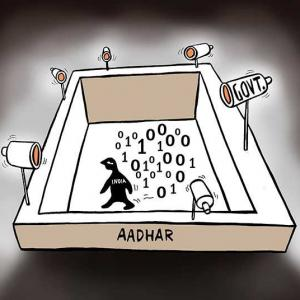 'Aadhar is a national security threat'
