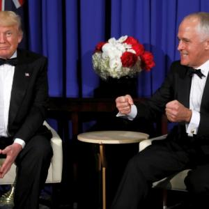 After telephone spat, Trump patch up with Australian PM
