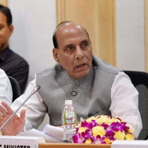 Rajnath pitches for aggressive strategy to combat Naxals