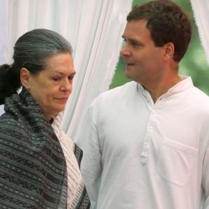 Trouble for Gandhis as Delhi HC orders I-T probe in National Herald case - Rediff.com India News