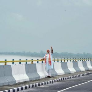 PM Modi opens India's longest bridge in Assam