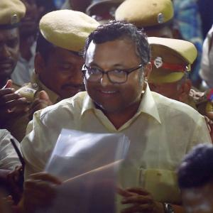 2 days after CBI raids, Karti leaves for London