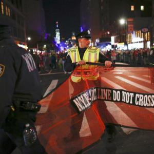 Terror in New York: 8 killed as man ploughs truck into crowds
