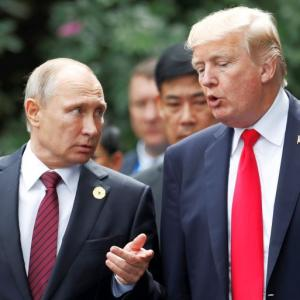 Putin 'insulted' by US election meddling claim, says Trump