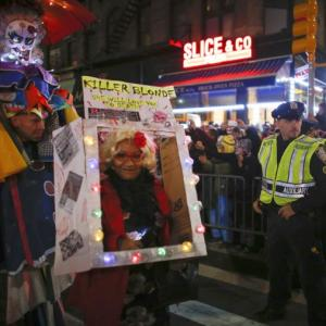 #NYCStrong: Halloween parade marches on after attack
