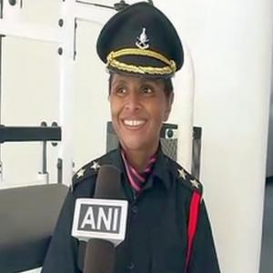 Her husband died fighting terrorists, today she joins Indian army