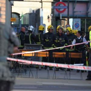 'Bucket bomb' attack on London train injures 22