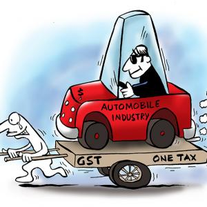 States rule out GST cut on automobiles