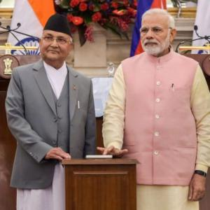 PM, Oli hold talks; seek to reset Indo-Nepal ties