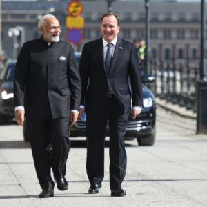 India, Sweden to deepen defence, security ties