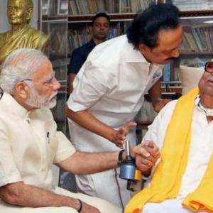 'Real fight is between BJP-led and DMK-led coalitions'