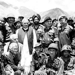 Vajpayee, the war-time prime minister