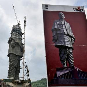 PHOTOS: Look how far the 'Statue of Unity' has come