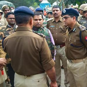 Bulandshahr: 4 arrested for cop's murder; Bajrang Dal man on the run