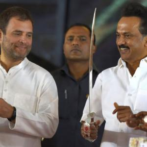 Stalin bats for Rahul Gandhi as next PM to defeat 'fascist Modi govt'