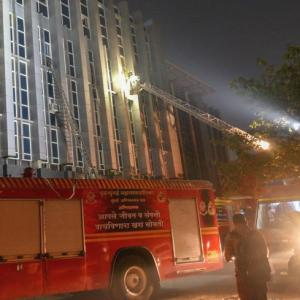 Another fire at same Mumbai hospital 2 days after deadly blaze