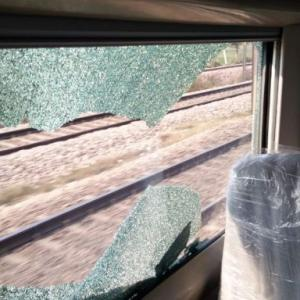 India's fastest train pelted with stones during trial run