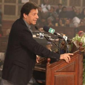 Will show Modi govt how to treat minorities: Imran Khan
