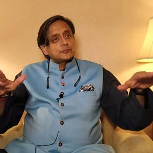 WATCH! Shashi Tharoor: 'Modi is a great salesman'