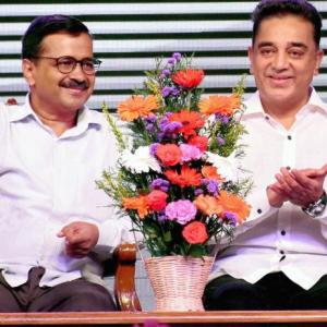 Kamal Haasan launches party, names it 'Makkal Needhi Maiam'