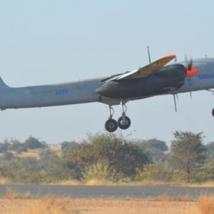 DRDO successfully tests surveillance drone Rustom-2