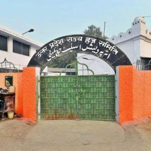 UP govt removes Haj committee secy after saffron paint row