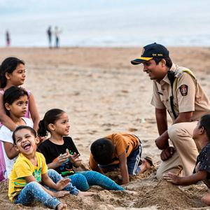 The men and women who ensure that Mumbai stays safe!