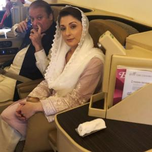 Behind bars for being daughter of Nawaz Sharif: Maryam
