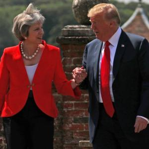 'Sue EU': Trump's 'brutal' advice to Theresa May over Brexit