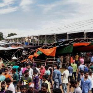 90 injured in tent collapse during PM rally; Centre seeks report